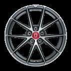 丰途/FR553 18寸 旋压铸造轮毂 孔距5X114.3 ET35亮铁灰车亮